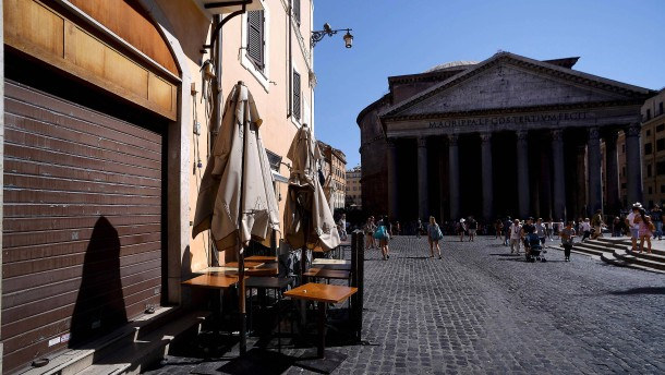 Nur das Pantheon hat keine Risse