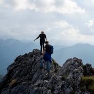 Dieses Jahr sind deutlich mehr Wanderer und Bergsteiger in den Alpen unterwegs - die Zahl der Unfälle ist rückläufig.