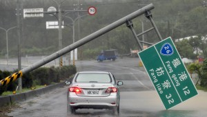 Wirbelsturm Meranti verwüstet Taiwan