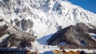 Ramsau am Dachstein in der Steiermark: Hier stürzte eine Snowboarderin schwer.