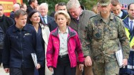 Moor-Brand in Meppen: Verteidigungsministerin Ursula von der Leyen (CDU) hat am Samstag um Entschuldigung für die Fehler der Bundeswehr gebeten.