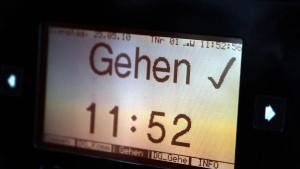 Arbeitszeiten in Deutschland seit 30 Jahren fast unverändert