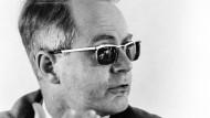 Prof. Rudolf Wiethölter als neuer Prorektor der Goethe-Universität Frankfurt, am 19. Mai 1970
