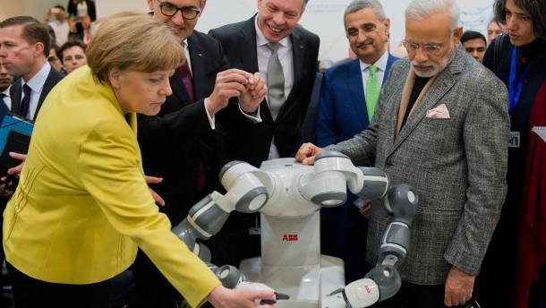 """""""Unsere Roboter verdrängen keine Arbeiter"""""""