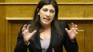Griechische Parlamentspräsidentin verlässt Syriza