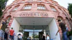 Frankfurter Goethe-Uni kauft ein
