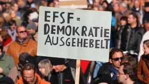 Der Euro-Krisenfonds verfehlt die Billion