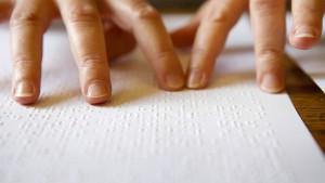Leser mit Fingerspitzengefühl