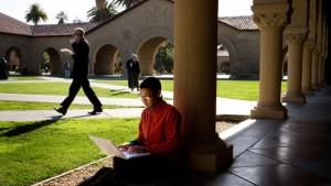 Amerikanische Studenten in der Finanzklemme