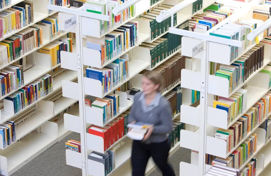 Bibliotheken der Gegenwart, der Vergangenheit.