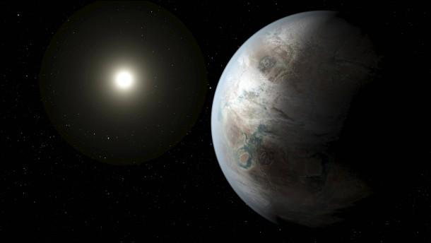 Der größere und ältere Cousin der Erde