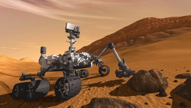 Nasa schickt Marsrover auf die Reise