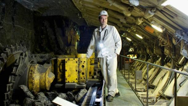 Deutsches Museum  - in der Bergbauabteilung zeigt das Münchner Museum historische Technologien im Stahl-Erz- und Salzbergbau
