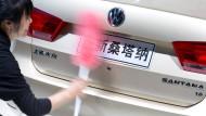 Volkswagen stutzt sein Absatzziel in China