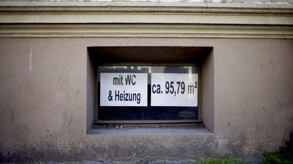 Viel Platz ist in Keller-WGs ja – wenn auch nicht immer in der Höhe.