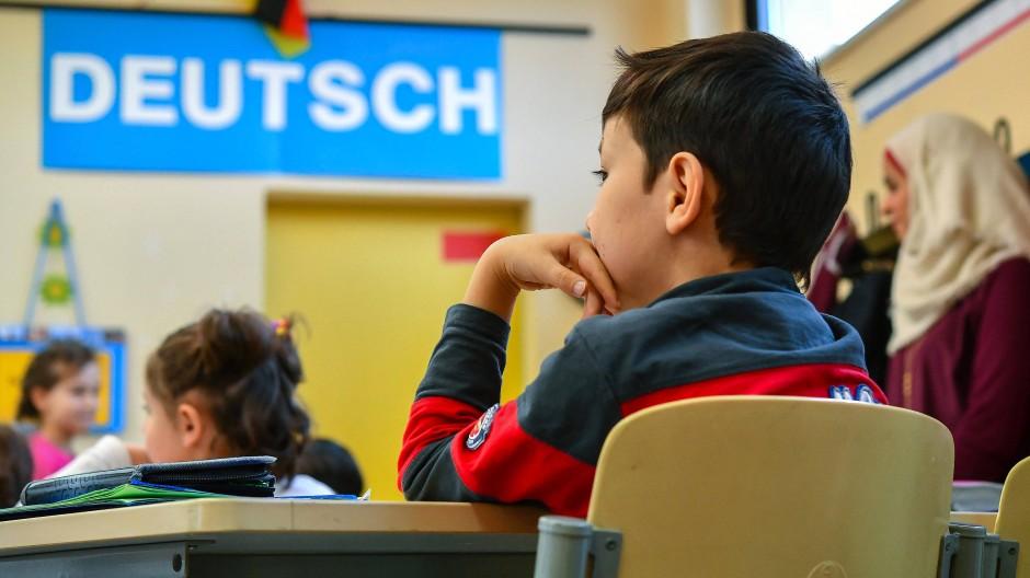 Schule in Brandenburg mit Unterricht für Flüchtlingskinder