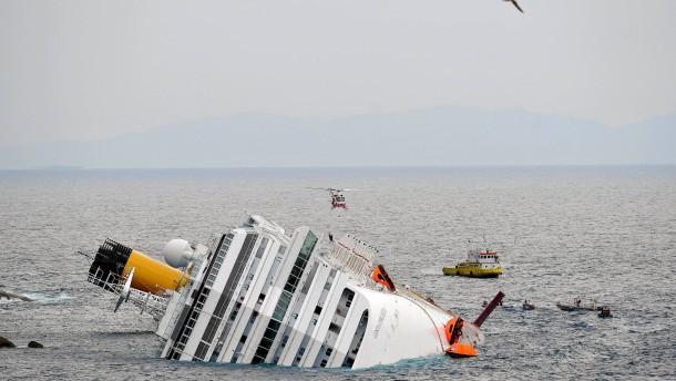 Concordia belastet Kreuzfahrtmarkt