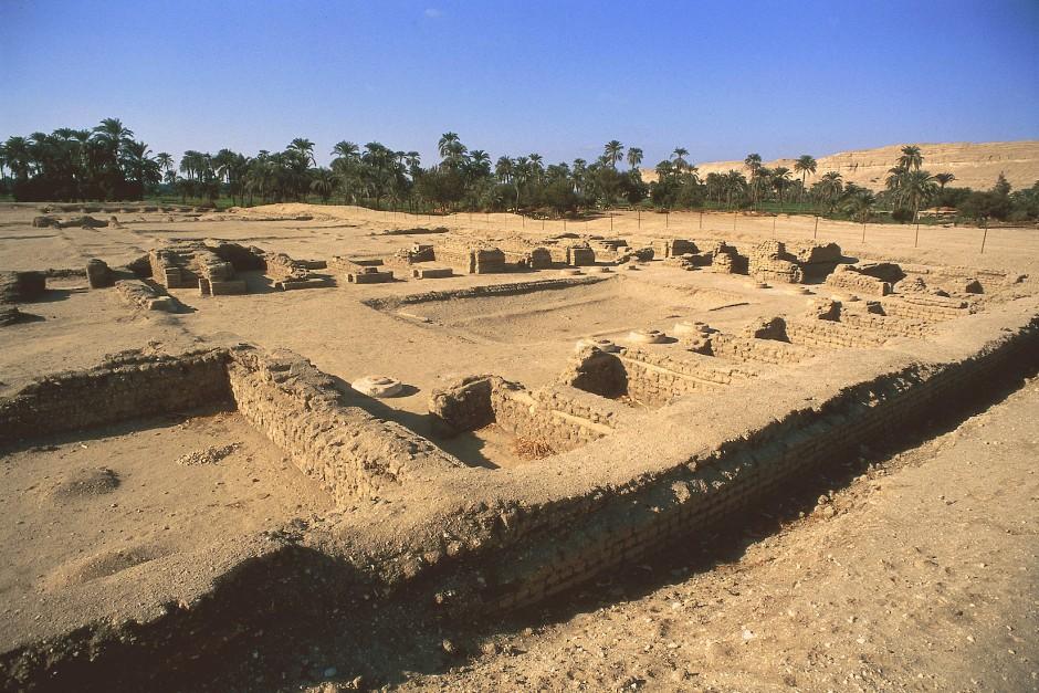 Palast der Nofretete in Tell el-Amarna