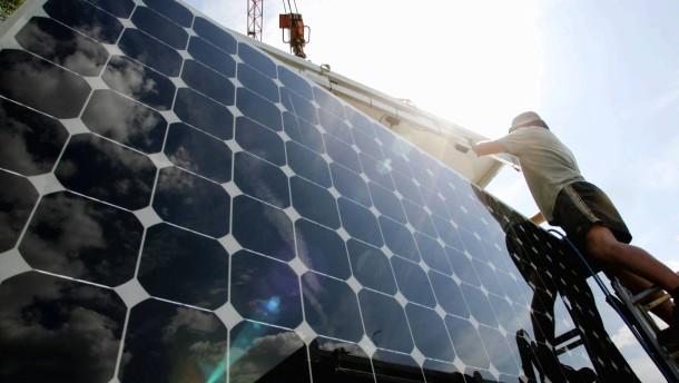 Die Solarindustrie ist auch ein Förderopfer