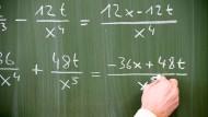 Mathe macht so manch einem angehenden Ingenieur zu schaffen.