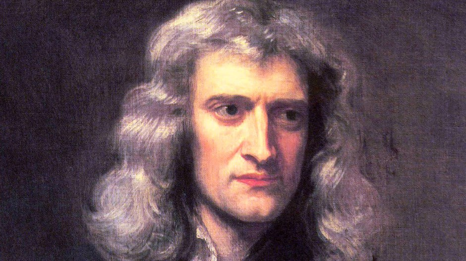 Gegenstand postkolonialer Kritik: Isaac Newton