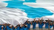 Selbst ein Team aus Nordkorea ist dabei, wenn die Universiade ansteht