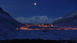Forschen im arktischen Eis