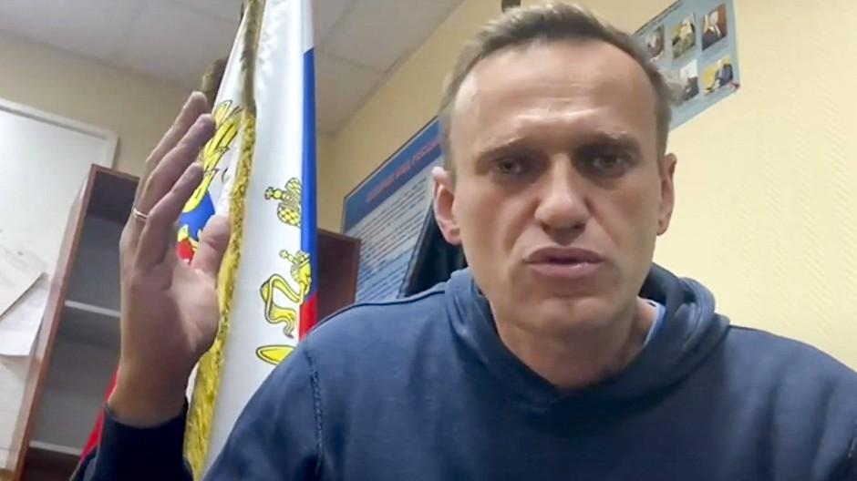Weiß, was er tut: Alexej Nawalnyj zurück in Russland