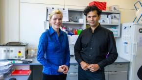 Privat und beruflich ein gutes Team: Martina Schad und Jim Kallarackal, die Gründer von  OakLabs