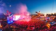 Das Melt!-Festival lockt jedes Jahr mehr als 20.000 Besucher in die Nähe von Dessau.