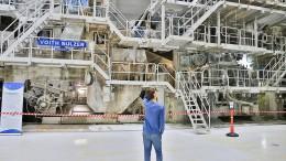 Die Papierfabrik Palm blickt zuversichtlich in die Zukunft