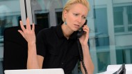 Jeder kann sich mal im Ton vergreifen, auch im Büro. Das darf aber nicht nach außen dringen.