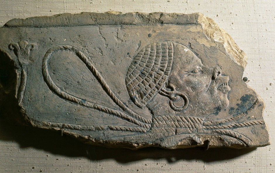 Darstellung eines nubischen Sklaven aus Amarna