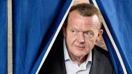 Lars Løkke Rasmussen, Führer der Oppositionspartei, wird wohl neuer dänischer Ministerpräsident.