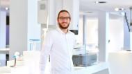 Kilian Neumeier, 24, hat Medieninformatik an der Hochschule Aalen studiert (Bachelor 2017).