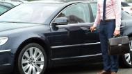 Eine Limousine für den Chef, das muss sein