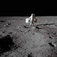 Buzz Aldrin war einer der ersten Astronauten, die wie hier am  20. Juli 1969 einen Fuß auf den Mond setzte.In den letzten Jahren ist es ruhiger geworden um die Raumfahrt, aktuell kommt jedoch wieder Begeisterung für Welttraummissionen auf.