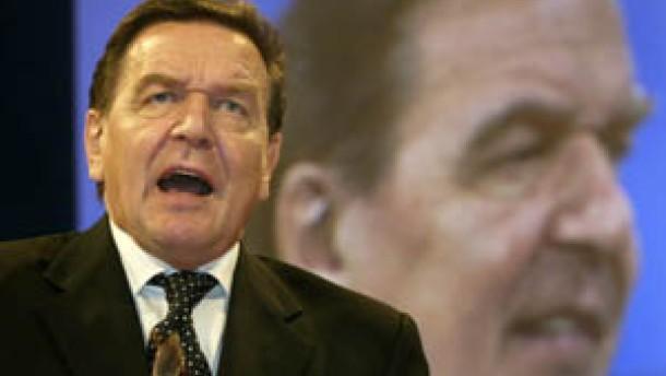 Schröder beklagt Gejammere