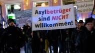 Eine Demonstration des bayerischen Pegida-Ablegers Bagida in München am 11. Januar 2016.