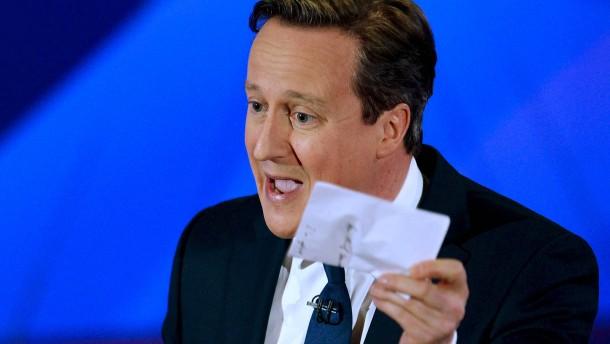 Zuschauer sehen Cameron als Sieger des letzten Fernsehauftritts