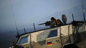 Zwei deutsche Soldaten verletzt