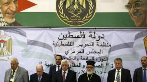 Palästinensische Drohgebärden