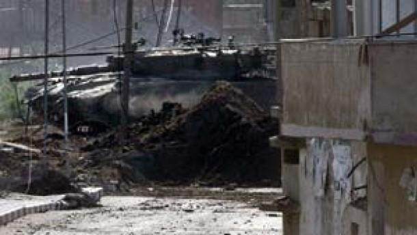 Israels Armee tötet fünf Palästinenser