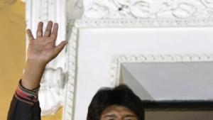 Morales überragender Wahlsieger in Bolivien
