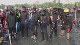 Demonstranten rüsten auf