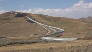 Türkei baut Mauer zu Iran