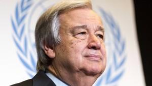 António Guterres erhält Karlspreis 2019