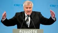 Seehofer: Demonstranten nicht pauschal verurteilen
