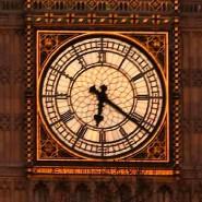 """Der """"Big Ben"""" am britischen Parlament bei Sonnenuntergang, Stunden nach dem Terroranschlag in unmittelbarer Nähe"""