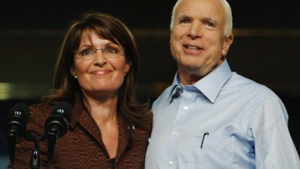 Umfrage: McCain zieht deutlich an Obama vorbei